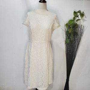 The Limited Lace Off White dress Sz:10